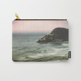 Pacific Northwest Grandeur - Heceda Lighthouse Carry-All Pouch