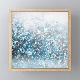Snowflakes Framed Mini Art Print