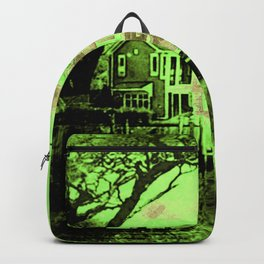 Spooky Boathouse Backpack
