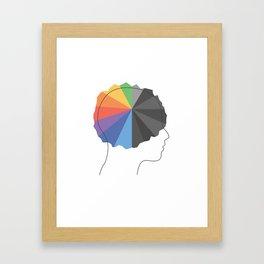 """""""Bipolar"""" Framed Art Print"""