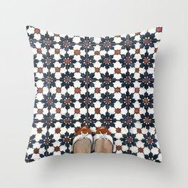Art Beneath Our Feet - Joo Chiat Throw Pillow
