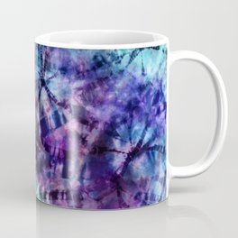 Midnight Tie Dye Coffee Mug