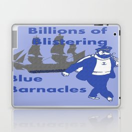 Blue Barnacles Laptop & iPad Skin