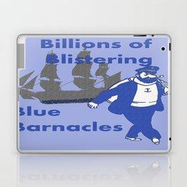 Blue Barnacles Laptop & iPad Skin