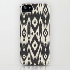 Black & Cream Tribal Ikat iPhone (5, 5s) Slim Case