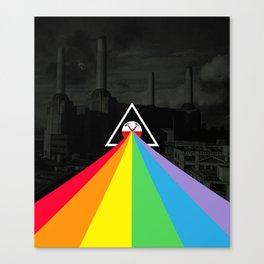 Floydian collage PinkFloyd Canvas Print