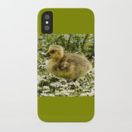 Fluffy Gosling iPhone Case