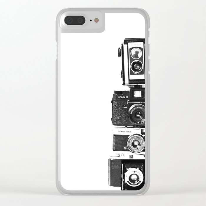 Camera Love Clear iPhone Case