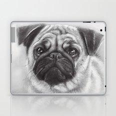 Cute Pug Dog Animal Pugs Portrait Laptop & iPad Skin
