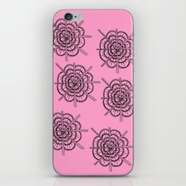 Rose Design iPhone Skin