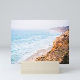 Cliffs at Torrey Pines Reserve Fine Art Print Mini Art Print