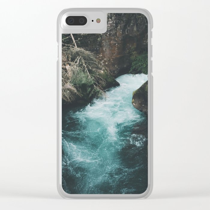 Avalanche Creek Clear iPhone Case