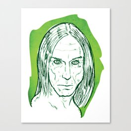 Iggy Pop! Canvas Print