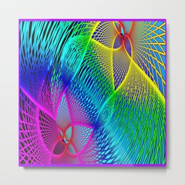 Abstract Prism    Metal Print