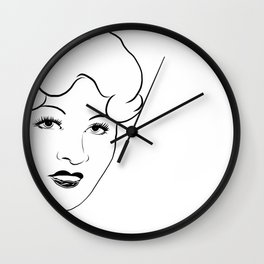 COME UP AND SEE ME Wall Clock