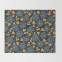 Floral pattern. Hepatica flowers by lents