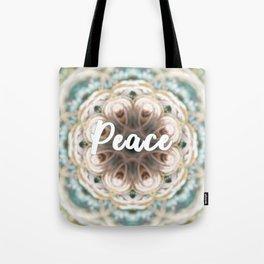 Mandala of the Month: Peace Tote Bag