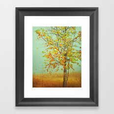 Green is Gold Framed Art Print