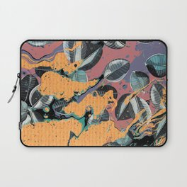 Leaves e Colors are pouring... Laptop Sleeve