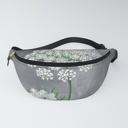 Queen Anne's Lace Flower Painting Fanny Pack