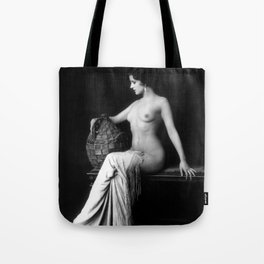 Ziegfeld Follies Girl Tote Bag