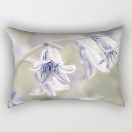 Spanish bluebells Rectangular Pillow