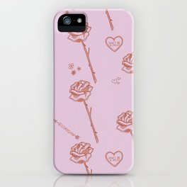 Don't be a prick | Valentines iPhone Case