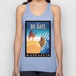 80 Days : Marrakesh Unisex Tank Top