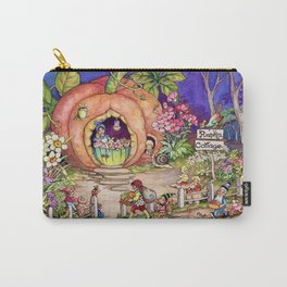 """""""Pumpkin Cottage"""" by Peg Maltby (1923) Carry-All Pouch"""