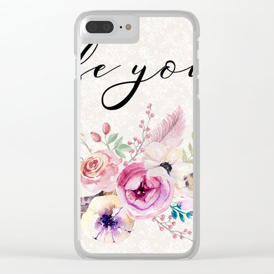 Flowers bouquet #26 Clear iPhone Case