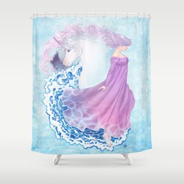 Last Unicorn Shower Curtain