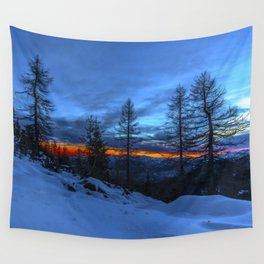 Warm Streak 1 Wall Tapestry