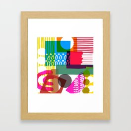 Pattern One Framed Art Print