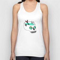 splash Tank Tops featuring Splash by Gel Jamlang
