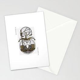 Omnia Illumina male Joker - janus Stationery Cards