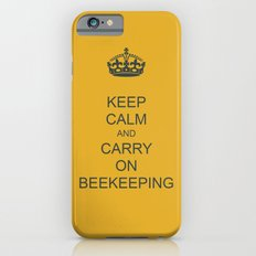 Keep Calm and Carry on Beekeeping Slim Case iPhone 6s