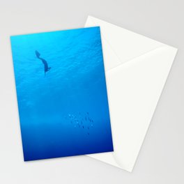 Dive through the rays of sunlight Stationery Cards