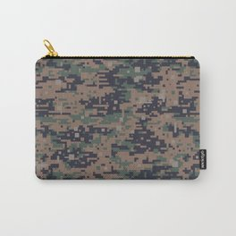 Marines Digital Camo Digicam Camouflage Military Uniform Pattern Carry-All Pouch