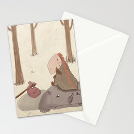 Forrest creatures Stationery Cards