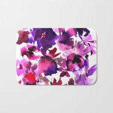 Sara Floral Pink Bath Mat