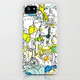 Character Cohesion iPhone Case