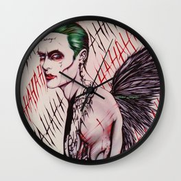 The Angel Joker (Limited Edition) Wall Clock