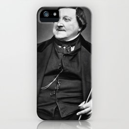 Etienne Carjat- portrait of Rossini iPhone Case