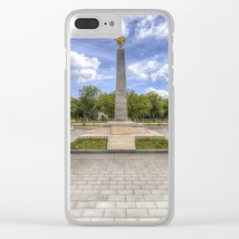 Soviet War Graves And Memorial Budapest Clear iPhone Case
