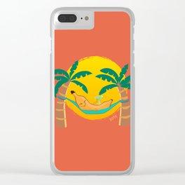 Banana Hammock Clear iPhone Case
