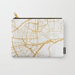 MALAGA SPAIN CITY STREET MAP ART Carry-All Pouch