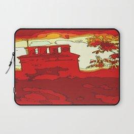 Sizzle Chimney  Laptop Sleeve
