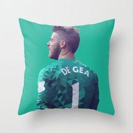 David De Gea - Manchester United Throw Pillow