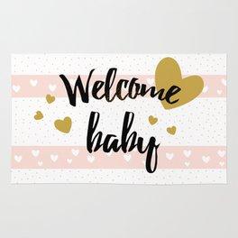 Welcome baby Rug