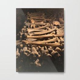 The Bones Metal Print
